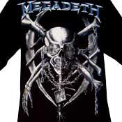 Megadeth Skull T-Shirt