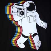 Ghettoblaster Moonwalker Shirt