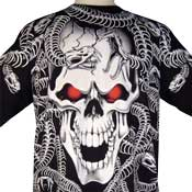 Gorgon Skull Tatoo Shirt
