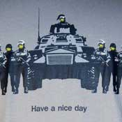 Have A Nice Day Army Shirt