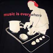 Music Is Everywhere Shirt